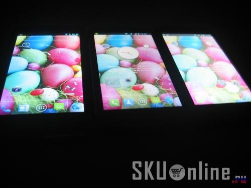 Экран Zopo Zp300+, Innos D9, Zopo Zp100  в темноте