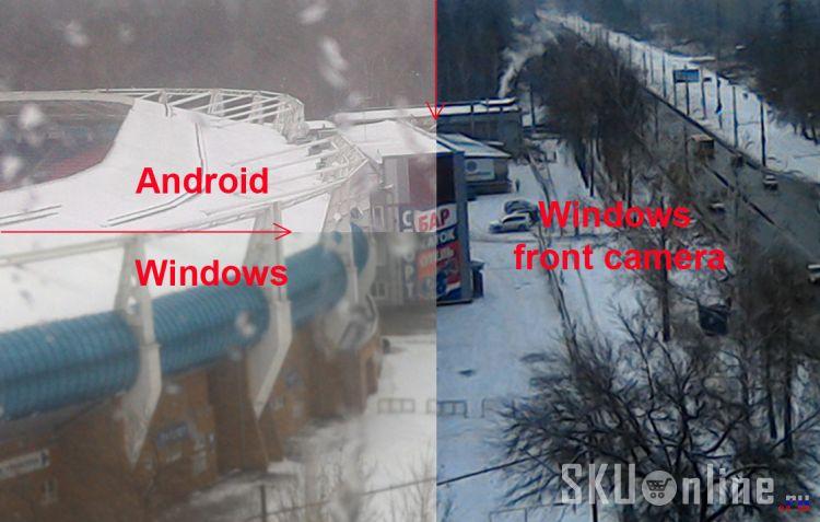 Качество камеры планшета Pipo W3F