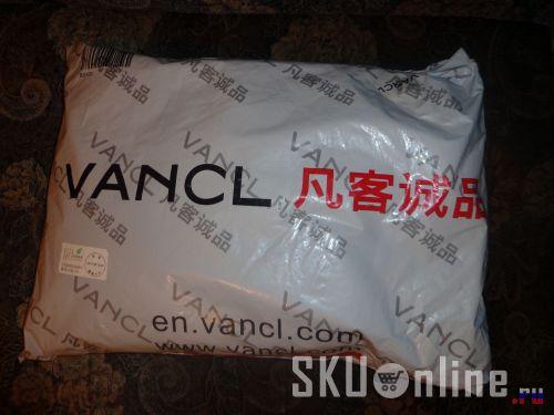 Упаковка одежды в Vancl