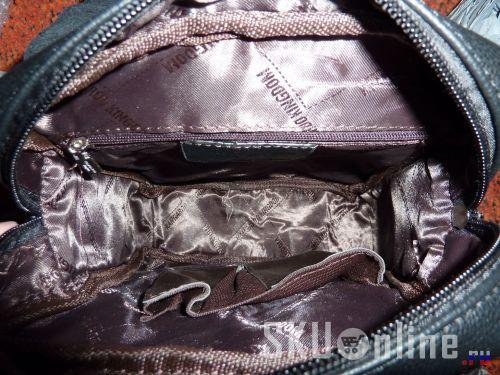 Внутри сумки