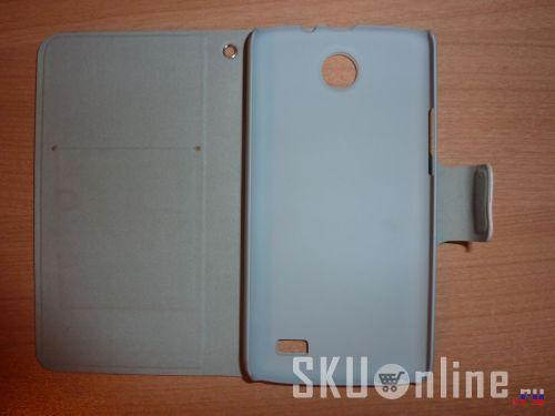 Вид чехла Lenovo A820 без телефона