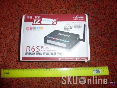 Коробка с media плеером Egreat R6S Plus Pro - 1
