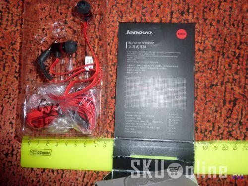Наушники Lenovo E111A и их характеристики