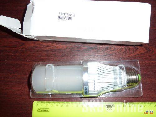 Длинная светодиодная лампа из магазина tmart
