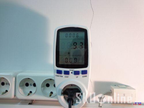 Мощность LED-лампы, приобретенной в Everbuying