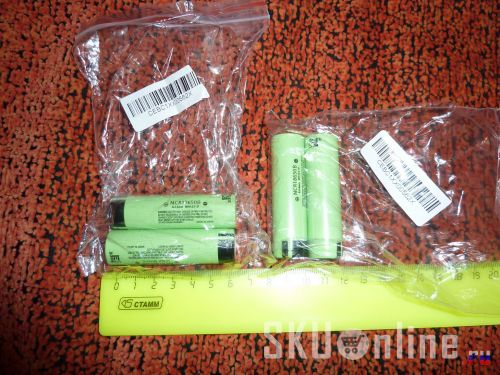 Аккумуляторы Panasonic NCR18650B из магазина Aurabuy