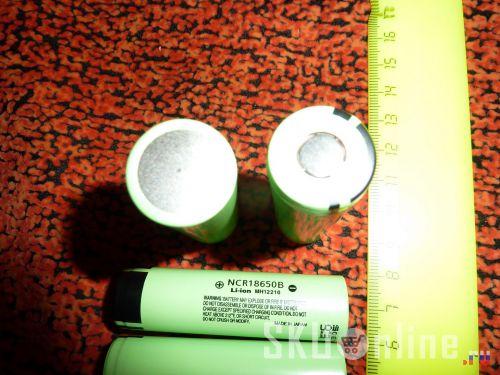 Аккумуляторы Panasonic NCR18650B - 2