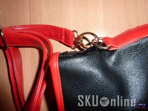 Крепление ремешка к сумке