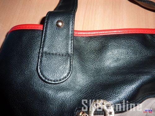 Крепление ручки к сумке