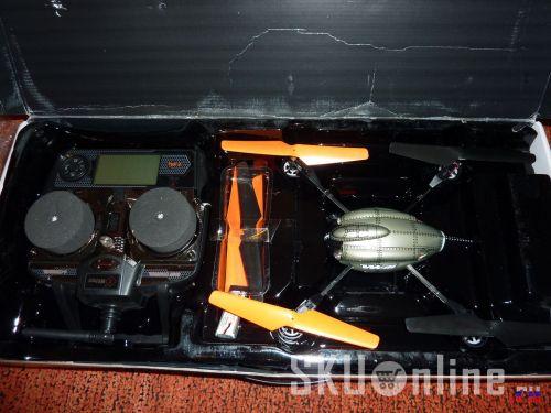 Квадрокоптер Wltoys V222 в упаковке