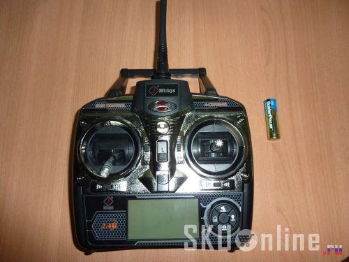 Пульт управления квадрокоптером Wltoys V222