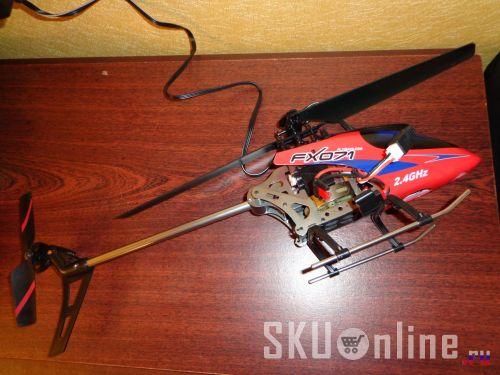 Вертолет FX071c на зарядке