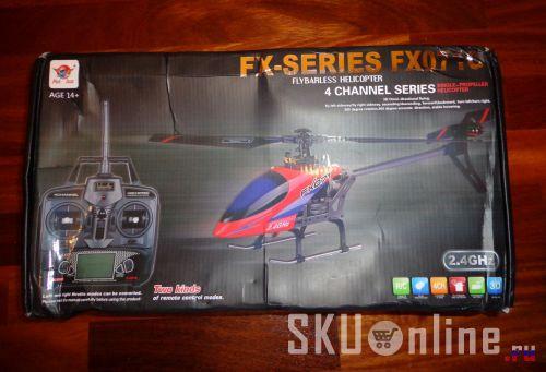 Упаковка с вертолетом FX071c