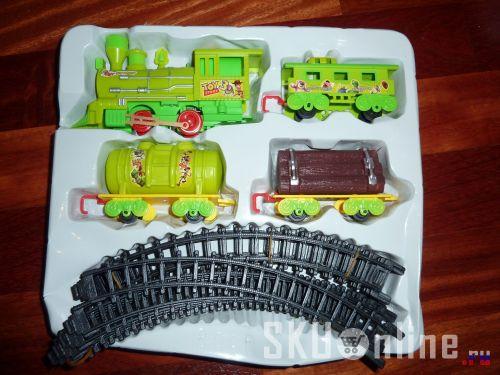 Детская железная дорога. Комплект