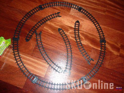 Круглый железнодорожный путь