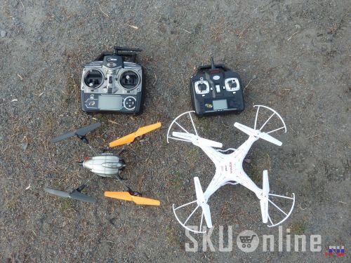 Квадрокоптеры Wltoys V222 и Syma X5C - 5
