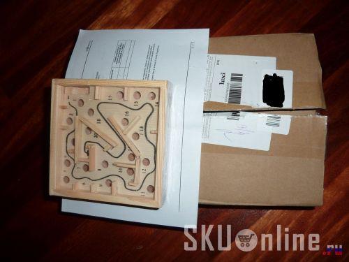 Лабиринт извлечен из коробки