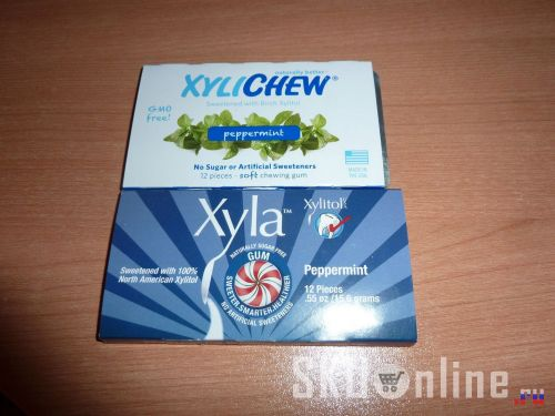 Упаковка жевательных резинок Xylichew Gum