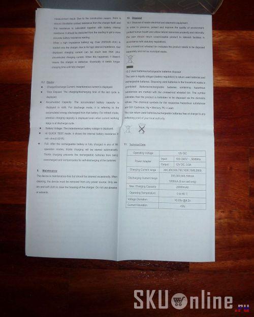 Инструкция Opus BT-C3100. Страница 4