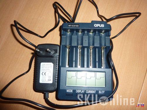 Зарядное устройство Opus BT-C3100 из магазина gearbest.com