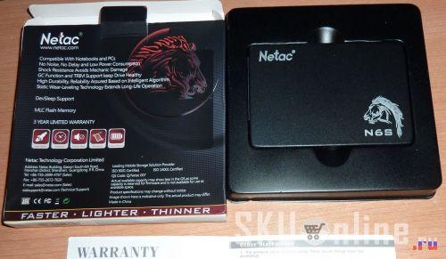SSD Netac N6S только из упаковки