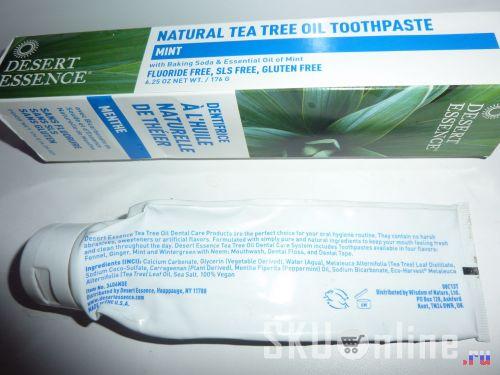 Упаковка с пастой Desert Essence Mint Whitening - 2