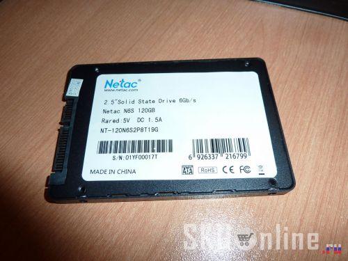 Этикетка на SSD Netac N6S