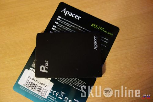 И еще SSD диск Apacer AS510S
