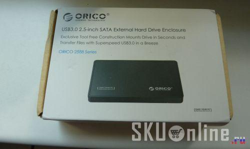 Коробочка с USB-боксом Orico 2588US3 - 1