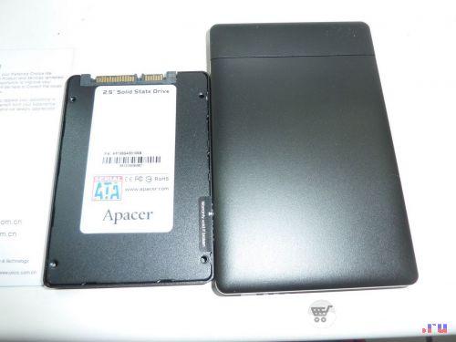 Orico 2588US3 и SSD
