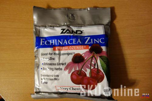 Zand, Echinacea Zinc, лицевая сторона