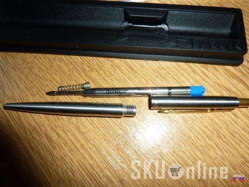 Ручка Parker Classic steel в разобранном виде - 2
