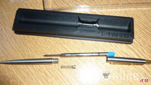 Ручка Parker Classic steel в разобранном виде - 1