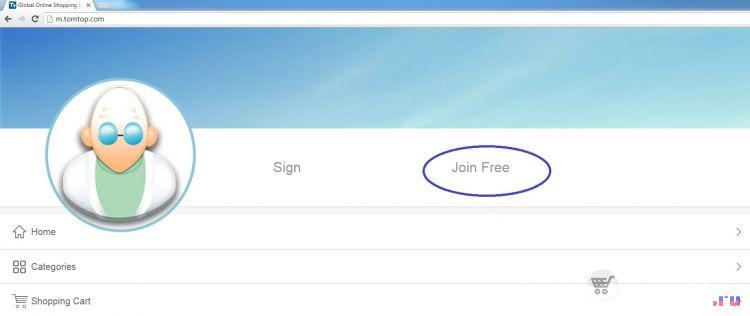 tomtop регистрация