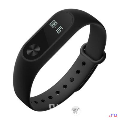 Original Xiaomi Mi Band 2 Smart Watch for Android iOS   -  BLACK