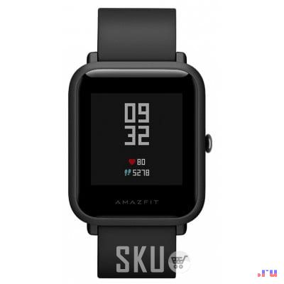 Original Xiaomi Huami AMAZFIT Smartwatch  -  CHINESE VERSION  BLACK