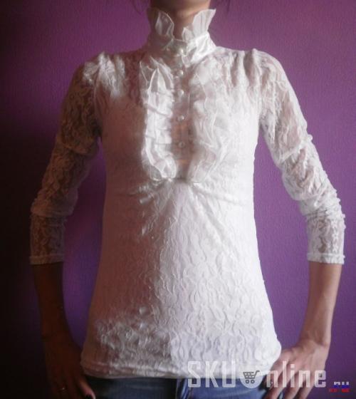 Гипюровая блузка доставка