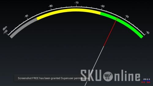уровень приема Wi-Fi Ainol Nova Aurora II