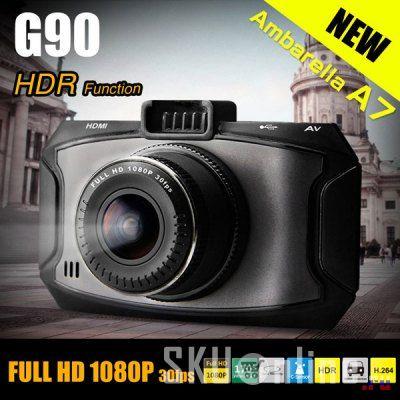 GearBest: Новый купон на видеорегистратора Dome G90 на Амбреле А7LA30 HDR 1080p