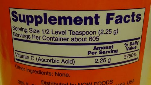 Магазины США: Витамин С в очень большой баночке