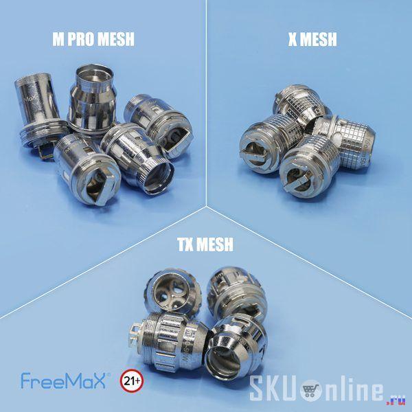 Freemax mesh coils long lasting life