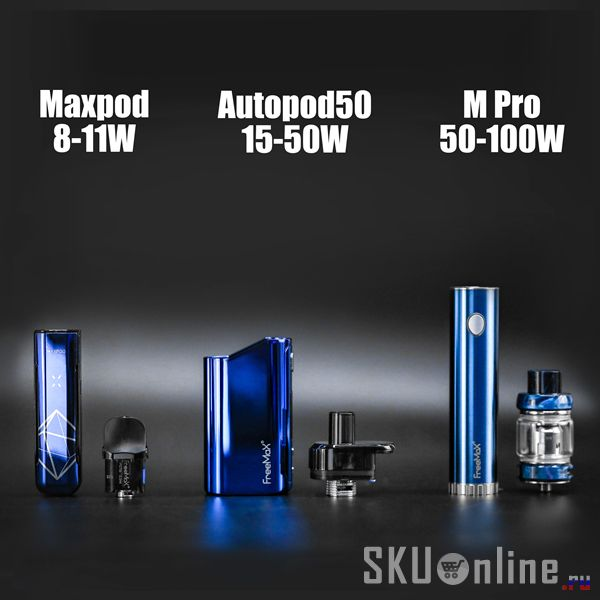 Freemax Autopod50 VS Maxpod