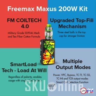 Maxus 200W Kit by Freemax