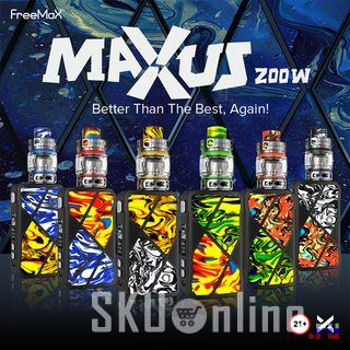 Freemax Maxus 200W Kit With Mesh Pro 2