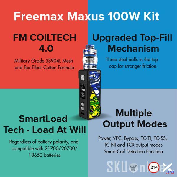 Maxus 100W Kit
