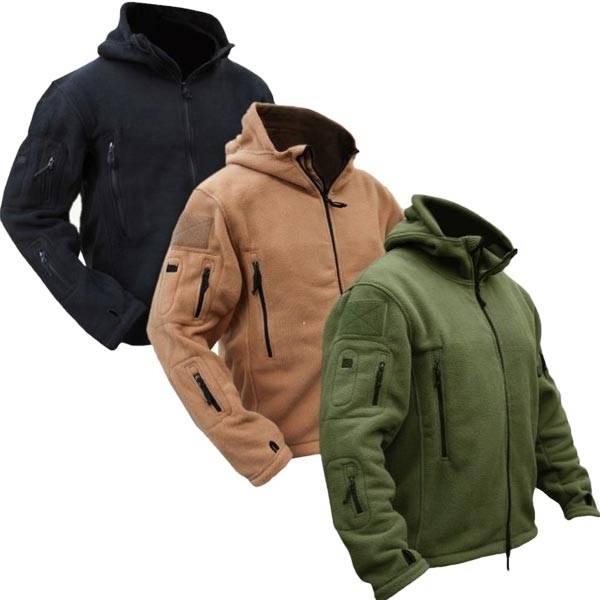 c9137ca871d Флисовая куртка в милитари стиле   Banggood   SKUonline.ru обзоры ...